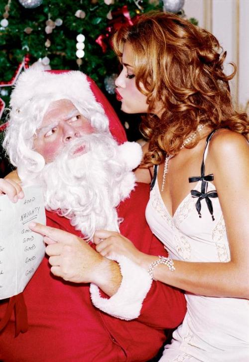 Girls on Film: Ana Beatriz Barros Wishes You a Naughty Christmas