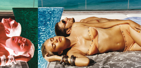 Look Book Love: Louis Vuitton Beachwear