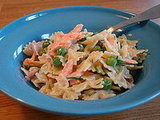 Salmon and Bowtie Pasta Salad