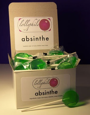 Absinthe Lollipops