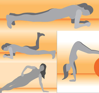 What's Your Favorite Plank Position?