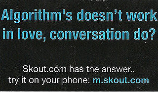 Grammatically Incorrect Ad For Skout.com