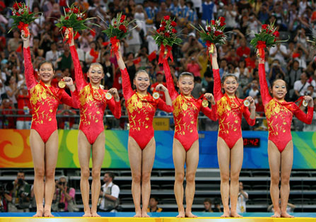 Underage Chinese Gymnasts?
