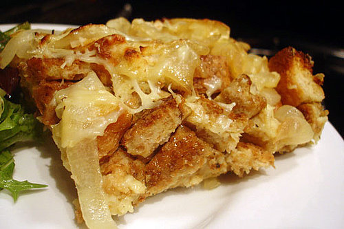 Healthy Holiday Recipe: Onion Bread Pudding