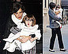 Photos of Suri Cruise and Katie Holmes in NYC Before New Year&#039;s