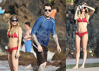 Nicole Richie Bikini Photos in Hawaii with Joel