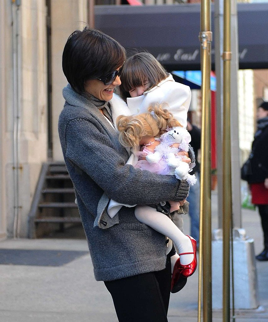 Katie and Suri Bundled Up