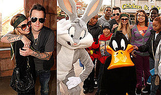 Photos of Nicole Richie and Joel Madden at Six Flags Magic Mountain
