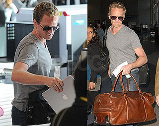 Photos of Neil Patrick Harris at LAX