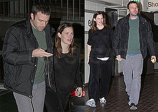 Photos of Ben Affleck and Jennifer Garner at Cedars-Sinai in LA