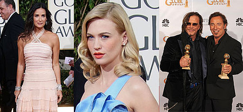Golden Globe Awards Red Carpet Fashion and Beauty