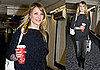 Photos of Cameron Diaz at Heathrow, She Will Be Presenting at Golden Globes