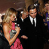 Photo of Cameron Diaz and Leonardo DiCaprio at the Golden Globes