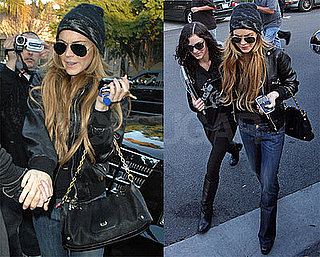 Photos of Lindsay and Ali Lohan in LA 2009-01-09 11:30:20