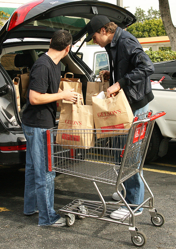 Tom Brady Grocery Shopping