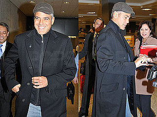 Photos of George Clooney in Washington DC