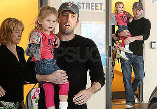 Photos of Ben Affleck and Violet Affleck in LA Week After Jennifer Garner Gave Birth