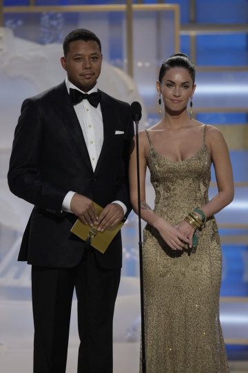 Photos From the Golden Globes Show
