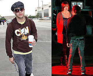Pete Wentz in Furry Boots
