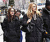 Photo of Leighton Meester and Blake Lively Filming Gossip Girl in NYC