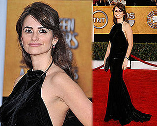 Penelope Cruz Looks Sultry and Sexy For SAGs