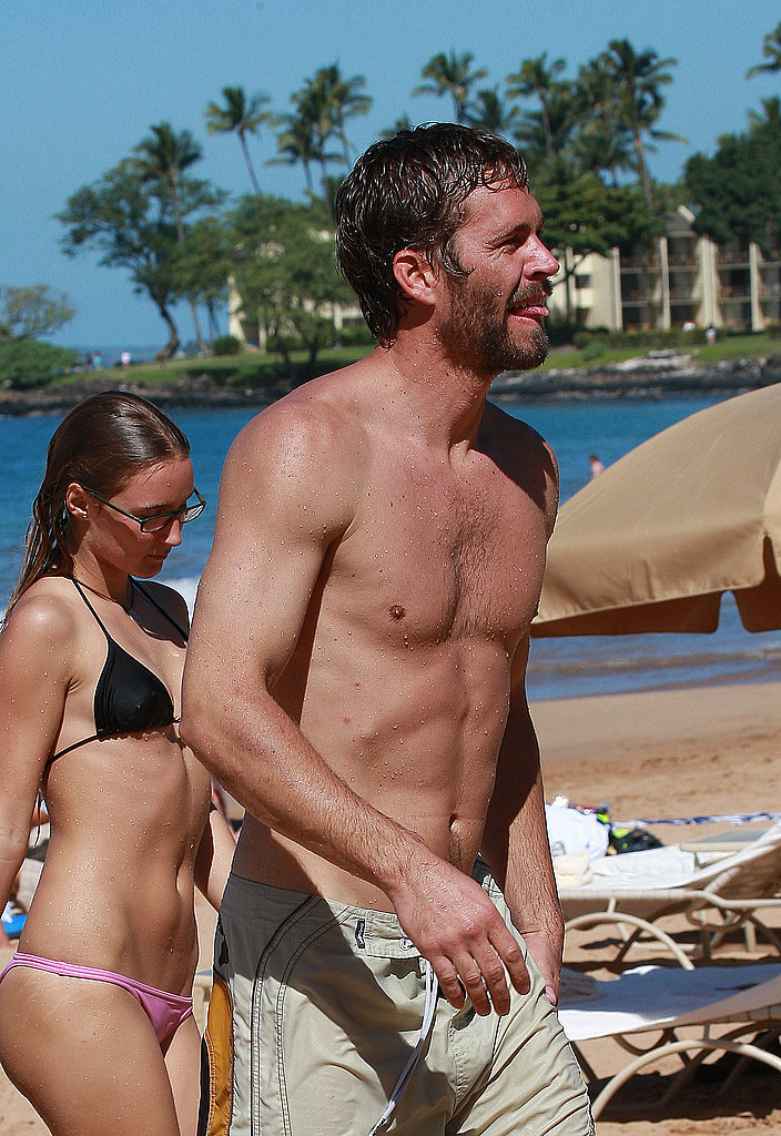 Paul Walker Soaks Up the Maui Sun