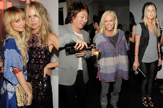 Nicole Richie and Rachel Zoe