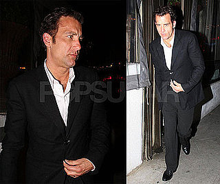 Photos of Clive Owen Leaving Sur Restaurant in LA
