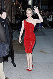 Renee Zellweger on Letterman 2009