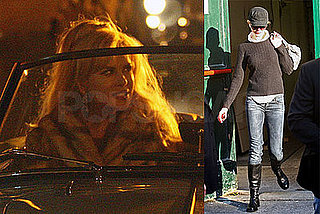 Photos of Nicole Kidman and Daniel Day-Lewis Filming Nine in Rome