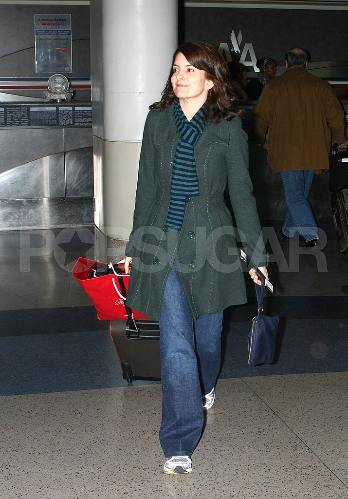 Tina Fey Takes Off