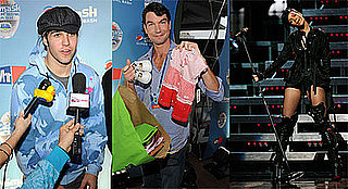 Photos of Pete Wentz, Jerry O'Connell, Rihanna at NFL Pepsi Smash Super Bowl Concert