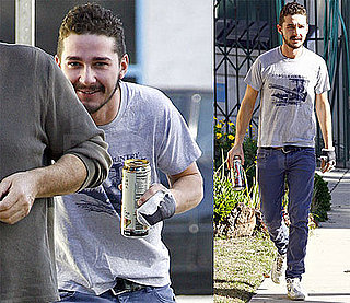 Shia LaBeouf Finds Some Hide-And-Go-Seek Hobbies