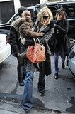 Madonna and Crew Out in NYC