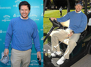 Photos of Mark Wahlberg at the Callaway Golf Foundation Challenge