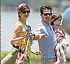 Photos of Tom Cruise, Katie Holmes, Suri Cruise in Brazil