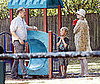 Photo of Cate Blanchett and Andrew Upton With their Sons at a Sydney Park