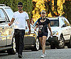 Photo of Fergie and Josh Duhamel Out For a Jog