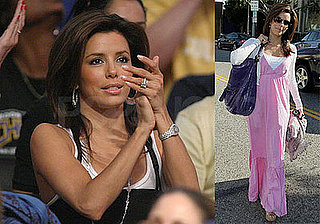 Eva Longoria Is on the Ball and Wisteria Lane