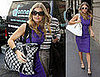 Fergie Shopping at Cartier in NYC