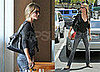 Gisele Bundchen and a Friend Eat Lunch in LA