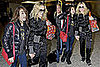 Madonna and Lourdes Leon at Heathrow