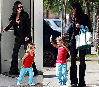 Courteney and Coco Love Their Idol