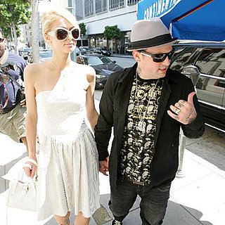 Benji Madden Wears Paris' Ring