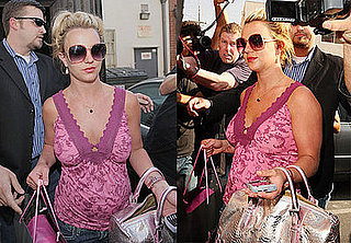 Britney Spears Images Shopping on Robertson Boulevard