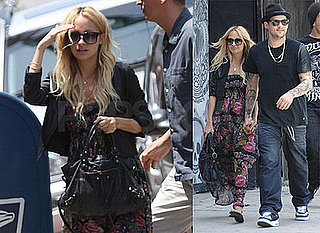 Nicole Richie and Joel Madden Go to DCMA