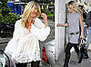 Kate Moss Changes Quickly At a Friend's House Before Hitting the Pubs