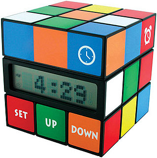 Is the Rubik's Cube Alarm Clock Geek or Chic?