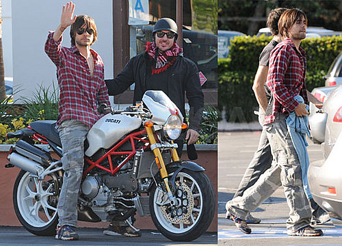 Jared Leto Spotted in Malibu, Isn't Dating Jessica Simpson