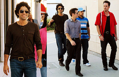 Adrian Grenier Films Entourage, Signs Production Deal, Maybe Moves in With Girlfriend